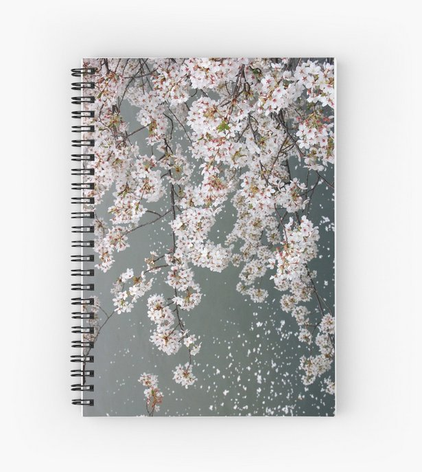 Notebooks  http:// goo.gl/DnDSTL  &nbsp;   buy any 2 and get 15% off #notebooks #stationery #writing #redbubble #cherryblossom #diary #sakura #spring <br>http://pic.twitter.com/BDY5mAMl2k