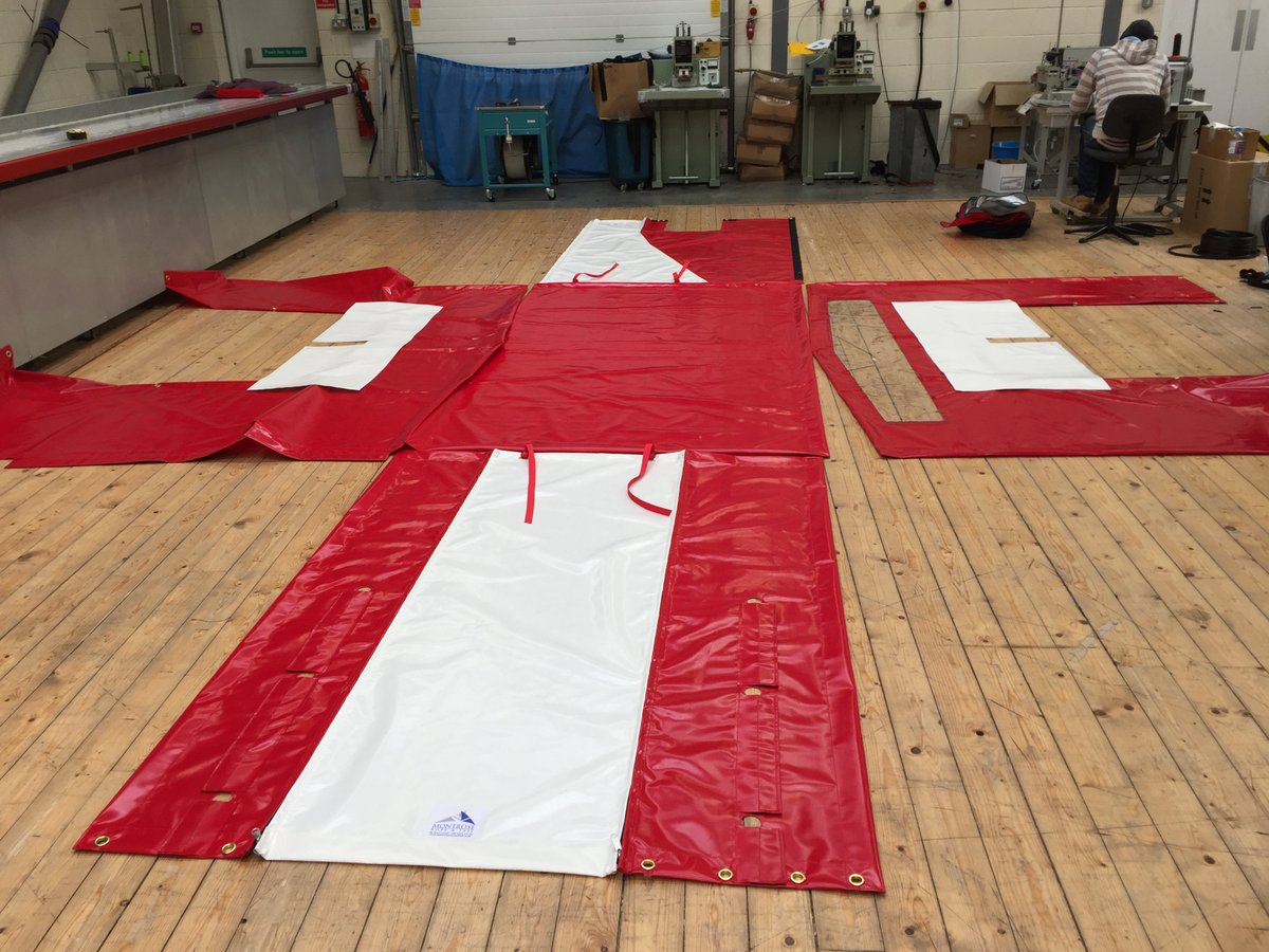 No job too big! We&#39;re working on some extremely large custom fit #tarpaulin covers today #bespoke #pvc #scotland #montroseropeandsail<br>http://pic.twitter.com/b8jRkyfGhU