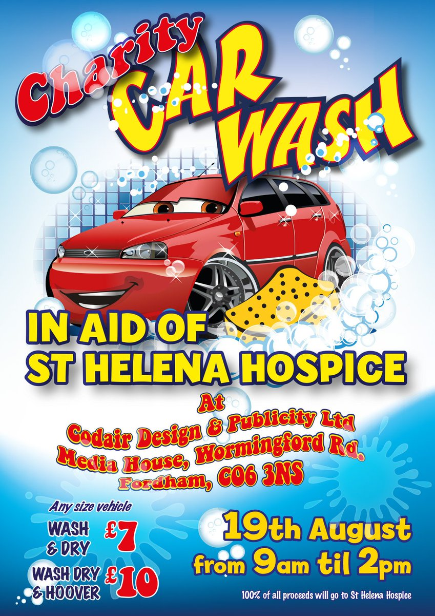 Atlas Signs On Twitter Hand Car Wash For Charity 19th August