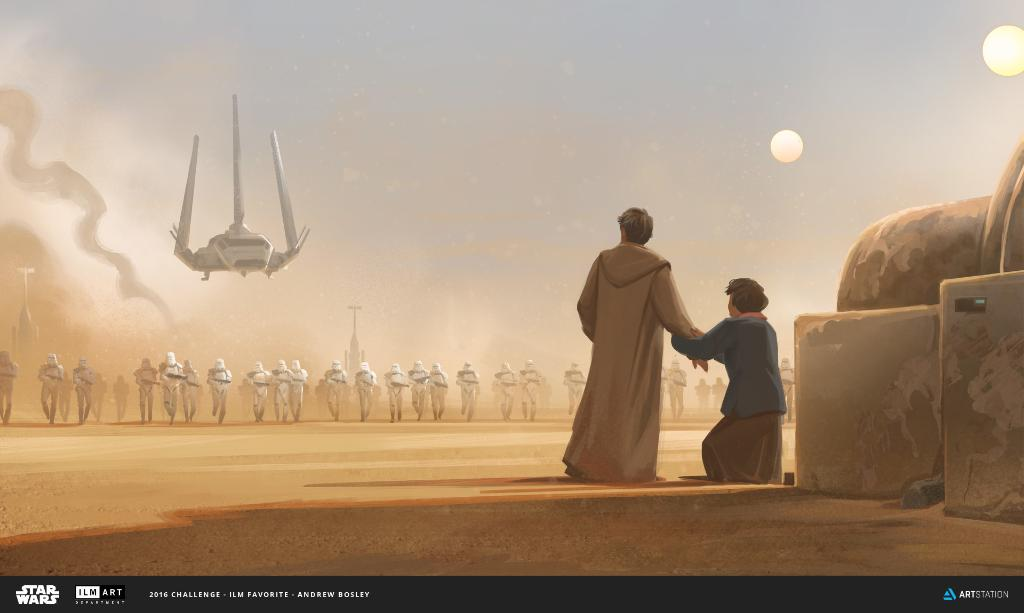 Old secrets become new problems for Owen and Beru Lars in Andre Bosley's work for the @ILMVFX Challenge. https://t.co/lG0Qro327n
