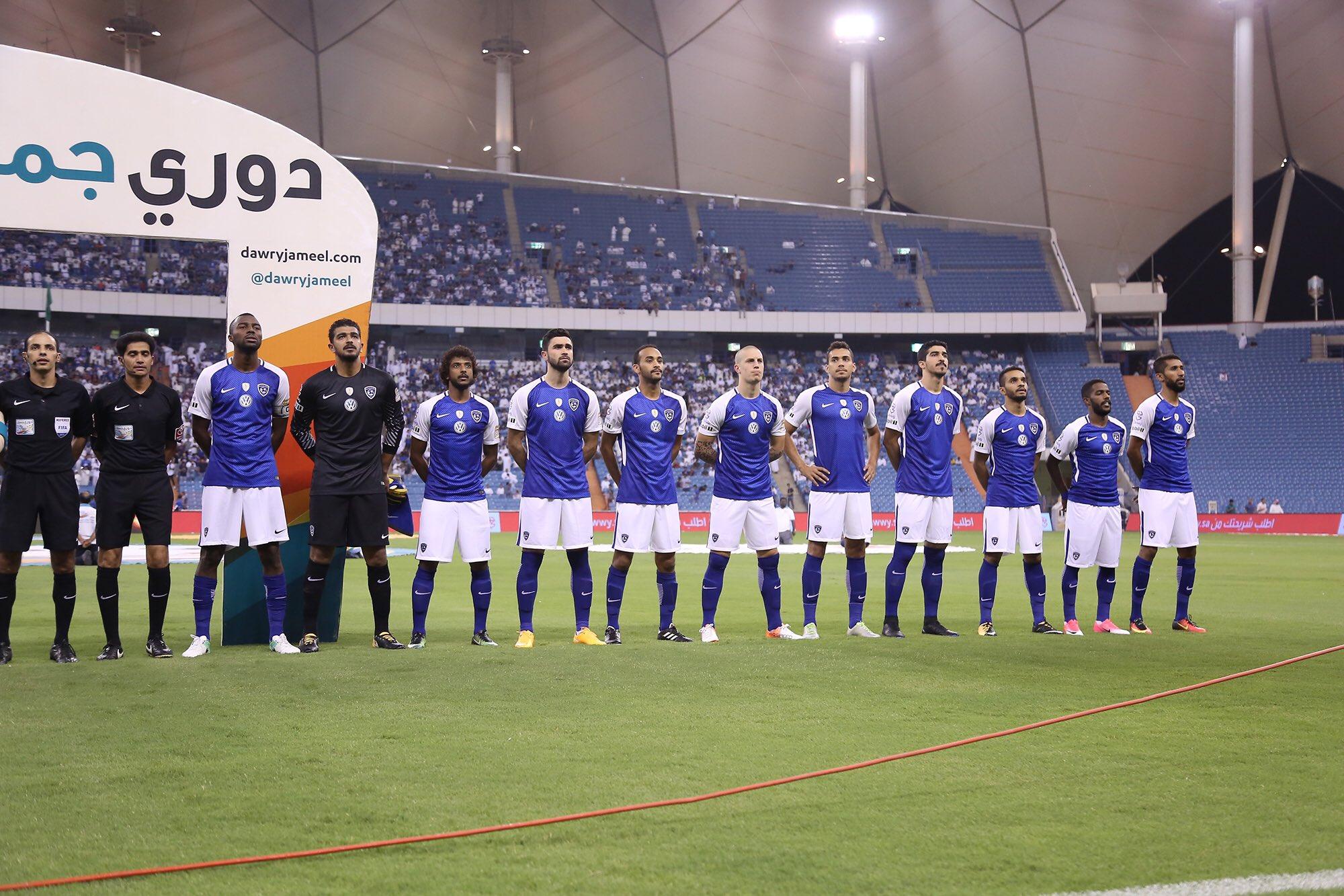 هدف الهلال الأول ضد الفيحاء (عبد الله الحافظ) فى الجولة الأولى من دورى جميل