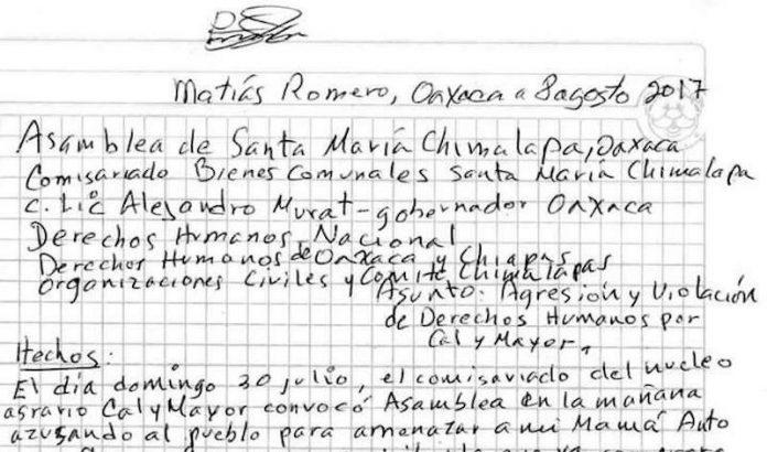 Caciques y autoridades violentan a comuneros zoques en Los Chimalapas  https://t.co/QQEkW25Efq #Oaxaca #Chiapas https://t.co/kYxAxFbZnc