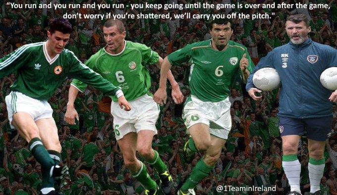 Happy 46th birthday Roy Keane.