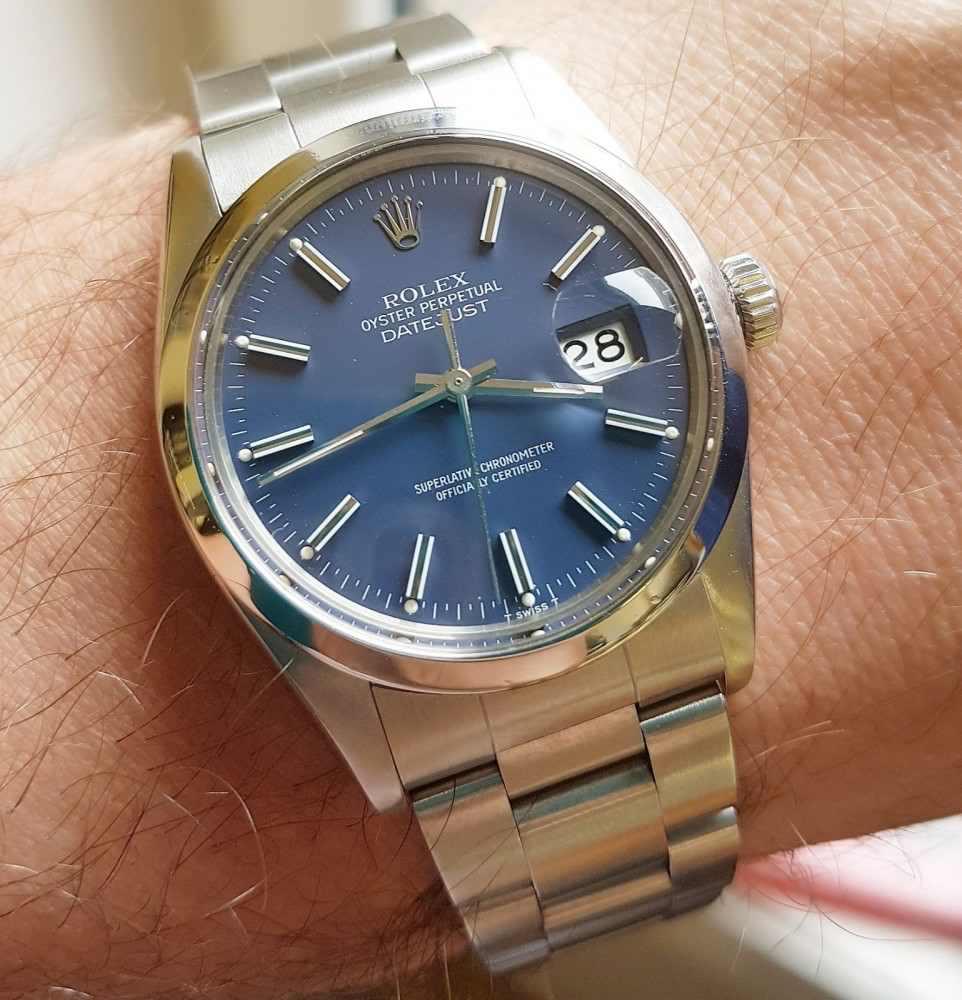Antique Watch Co Uk On Twitter Rolex Datejust Model 16000