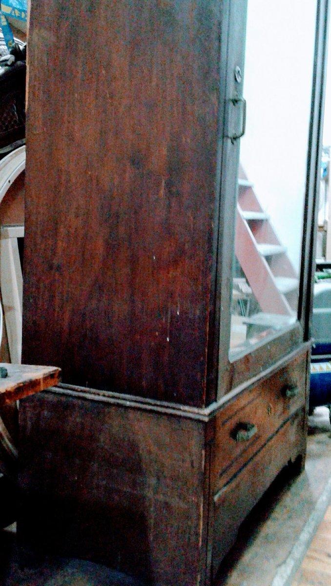 Restauraci N Muebles On Twitter Armario Luna En Maderas De  # Muebles Cedro Y Nogal