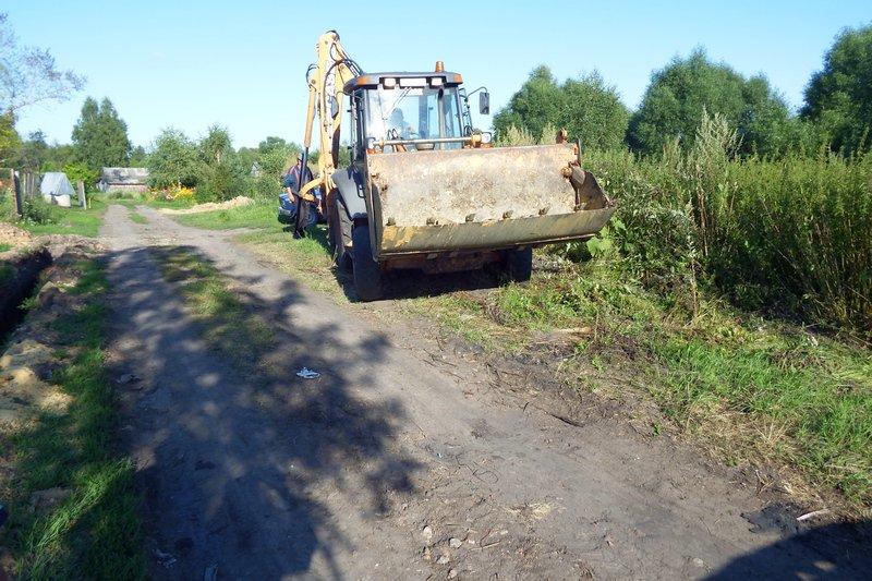 В деревне Засецкое продолжаются работы по газификации