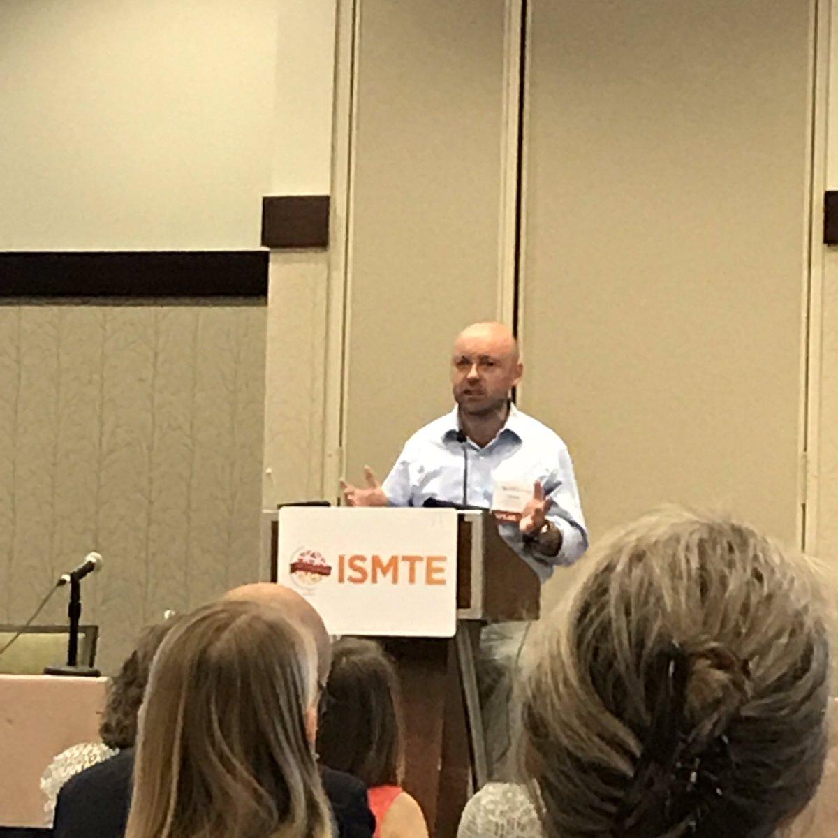 Keynote speaker Trevor Butterworth talks about quantitative literacy and understanding science  #ISMTE2017 #ISMTEis10 <br>http://pic.twitter.com/hEIjV4uZbV