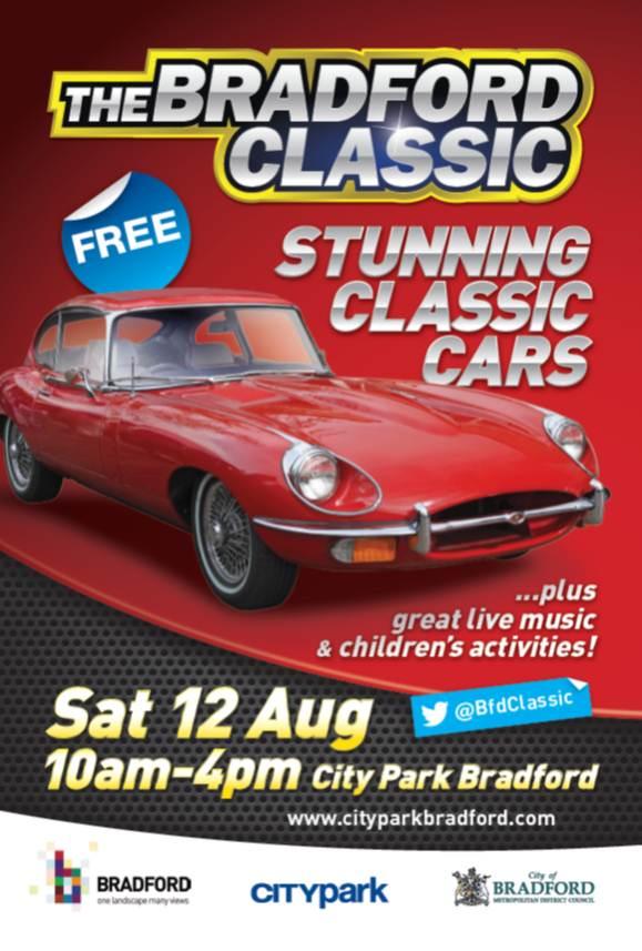 1 Day until @BfdClassic in @CityParkBD 10am-4pm! #Bradford #ClassicCars #VintageFair #LiveMusic #DontMissIt @visitBradford<br>http://pic.twitter.com/JI4zA9QFbS