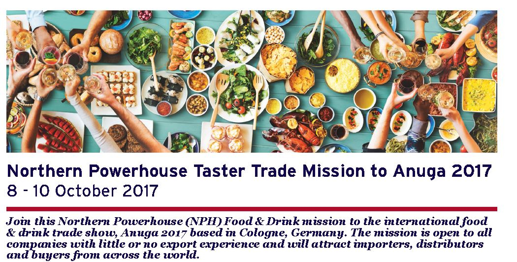 Calling all #NorthEast #food &amp; #drink cos great opportunity to join a group led #NorthernPowerhouse mission to Anuga  http:// bit.ly/2hO9i4v  &nbsp;  <br>http://pic.twitter.com/6w43EUuB2D