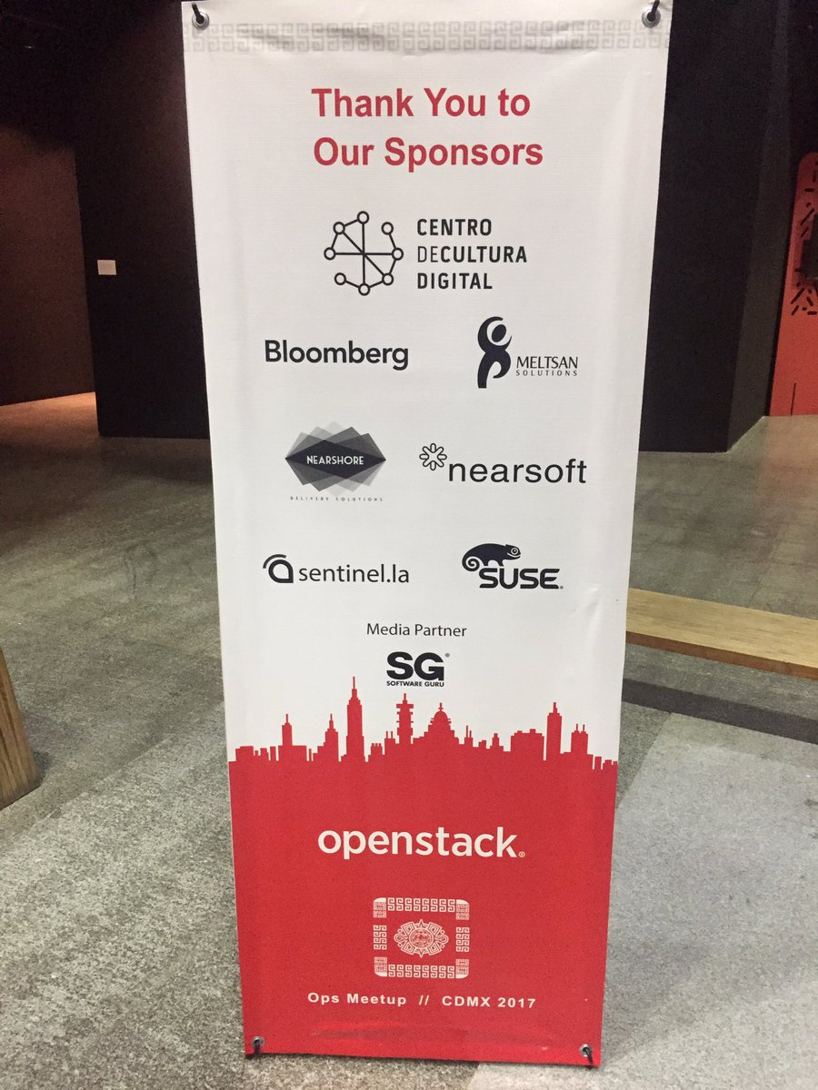 2nd Day @OpenStack #Ops @meetup in @mexico city! Let&#39;s get this done. #WeAreOpenStack<br>http://pic.twitter.com/wQyCSWmZv5