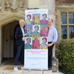 Wonderful visit from our Patron Joanna Trollope OBE today, enjoying our #FickleFortunes exhibition and #JanesGreatHouse campaign!