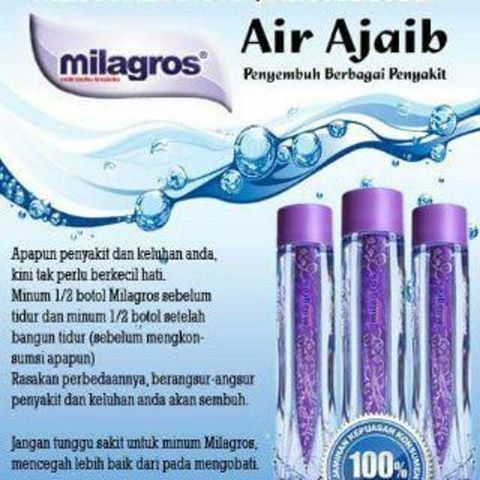 paul wizard on twitter milagros miracle water change your life