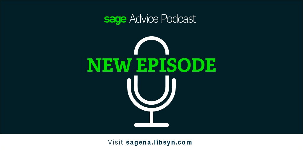 #SagePartner @DynaTodd chatted with @edkless on the #SageAdvice podcast about his passion for credit &amp; collections:  http:// bddy.me/2fvVWZQ  &nbsp;  <br>http://pic.twitter.com/KvfFHCROEM