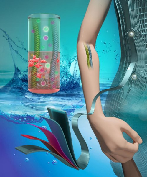 IV and cellular fluids power flexible batteries https://t.co/fd5SxlRNLT https://t.co/xRToJyqRHu