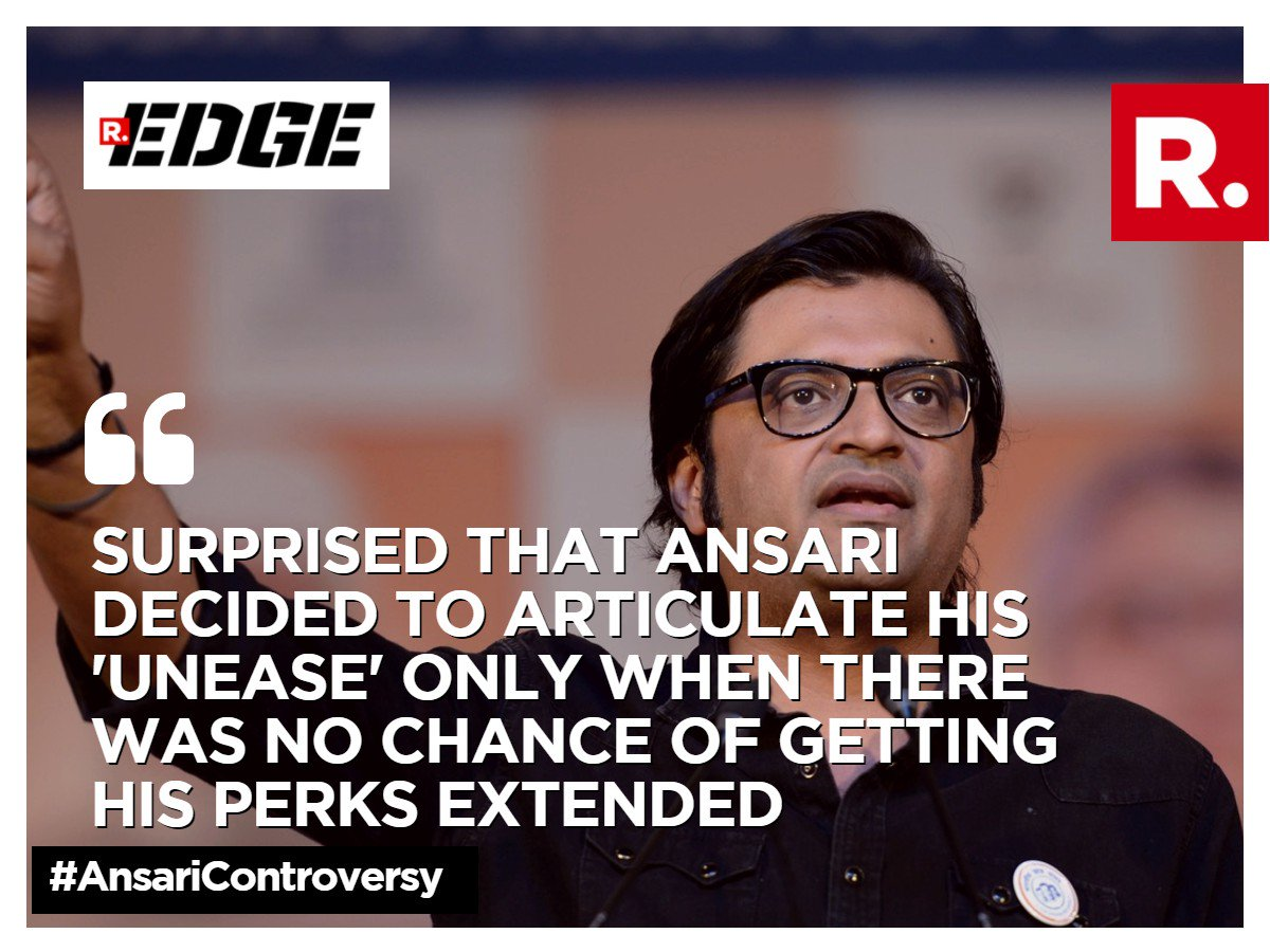 Which side of the debate are you on? Tweet using #AnsariControversy and voice your views. Watch the debate here:  http://www. republicworld.com/the-debate  &nbsp;  <br>http://pic.twitter.com/rKf65wVMBU