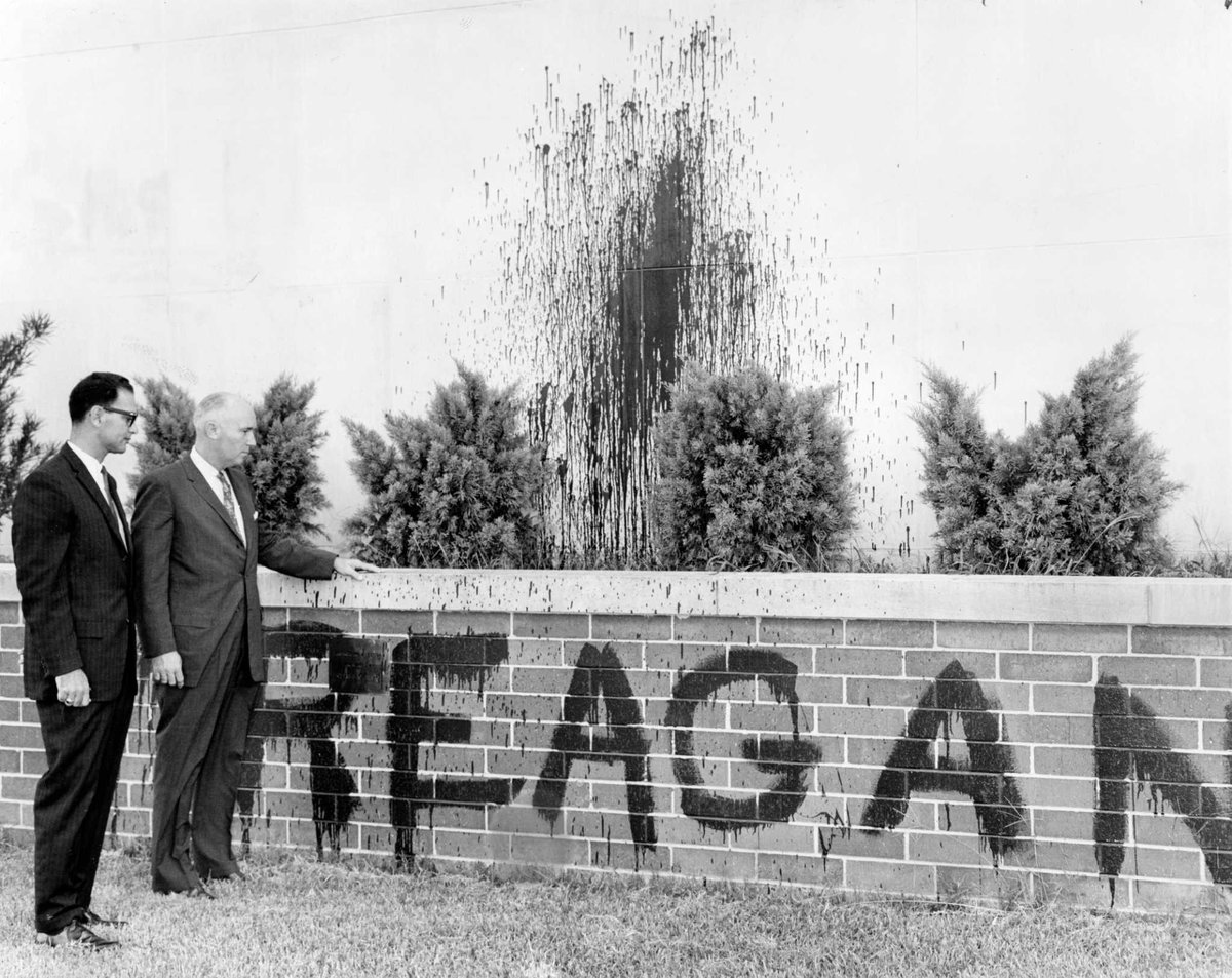 1961: Reagan HS students leave their mark on rival Waltrip. https://t.co/Xs7jX6lN86 https://t.co/EOxuBKg5Bs