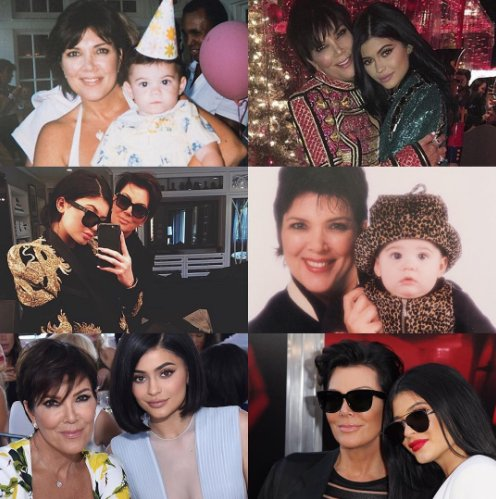 Kris Jenner wishes Kylie Jenner Happy 20th Birthday in 5 gushingposts