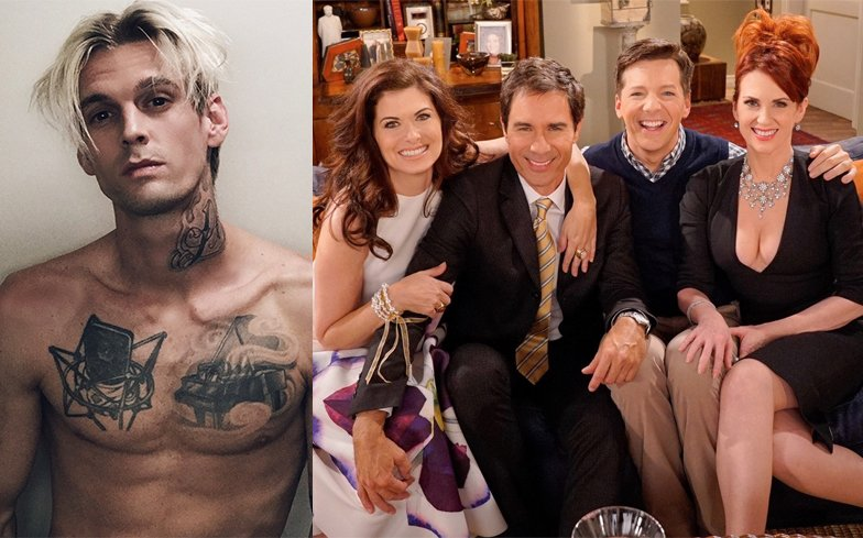 Image result for Aaron Carter Will & Grace