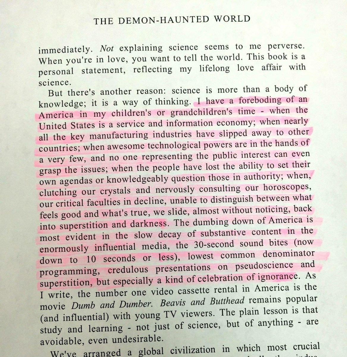 Carl Sagan 1996 https://t.co/jhbezqCe1r