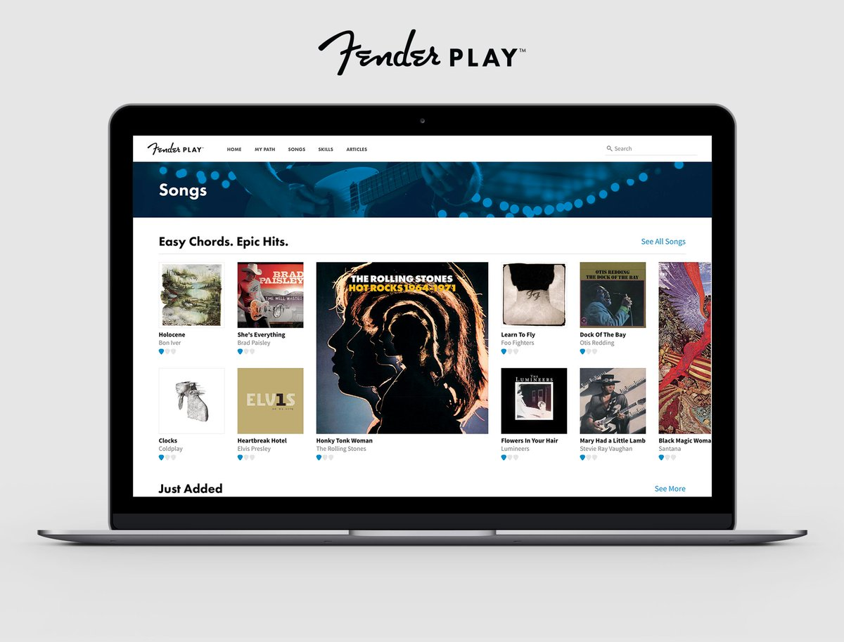 Fender On Twitter Fenderplay Gives You Curriculum Based Online