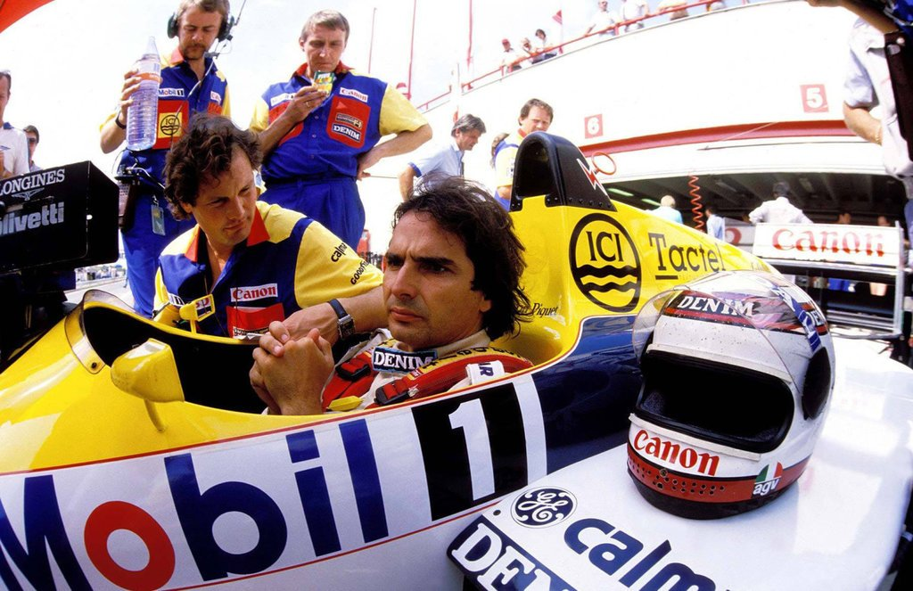 Nelson Piquet 🇧🇷 in Williams-Honda #V6T scored his 16th win, and 17th fastest lap in #F1. #OTD 1986 #HungarianGP https://t.co/qI8ojIOFdy
