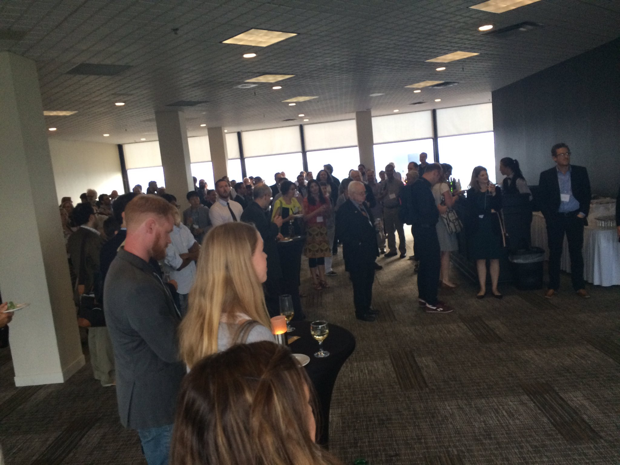 SEL reception: always a conference highlight. Penthouse floor! #nassr2017 https://t.co/nDb3m8zmHy