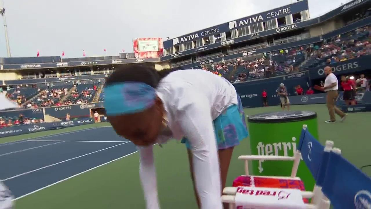 .@Venuseswilliams' ballboy has an upcoming birthday..  Think she'll score an invite? #rogerscup https://t.co/26YMSPpezm