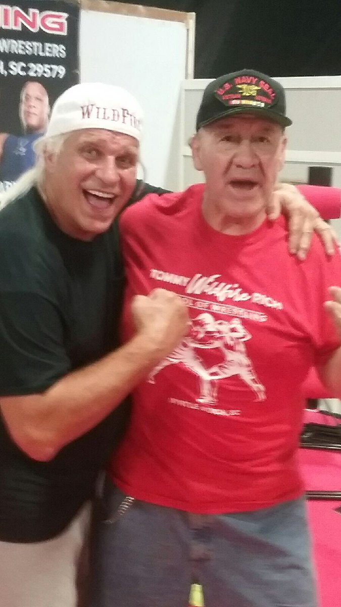 Wrestler Weekly On Twitter Look Who Stopped By The Tommy Wildfire