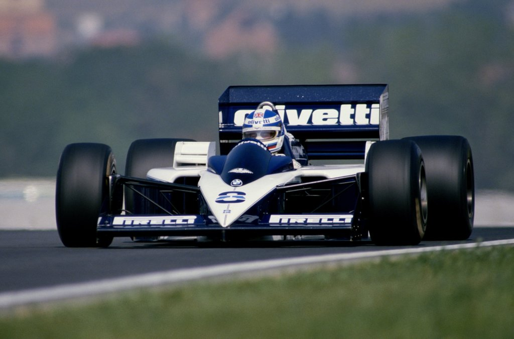 Derek Warwick in his @BrabhamOfficial BT55 at the Hungaroring. #F1 #OTD 1986 #HungarianGP (Photo: Mike King) https://t.co/LpPGOinx9z