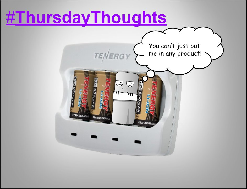 #ThursdayThoughts Batteries need to be used the right way. https://t.co/i50i937mKF