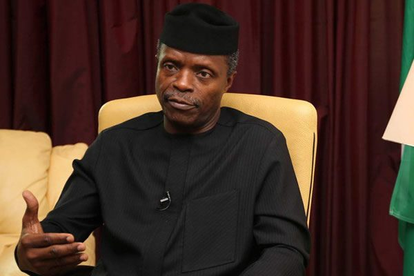 Osinbajo sent 5-man FG delegation to Anambra to visit, condole with govt & people of the state over last Sunday's attack on worshippers in Ozubulu