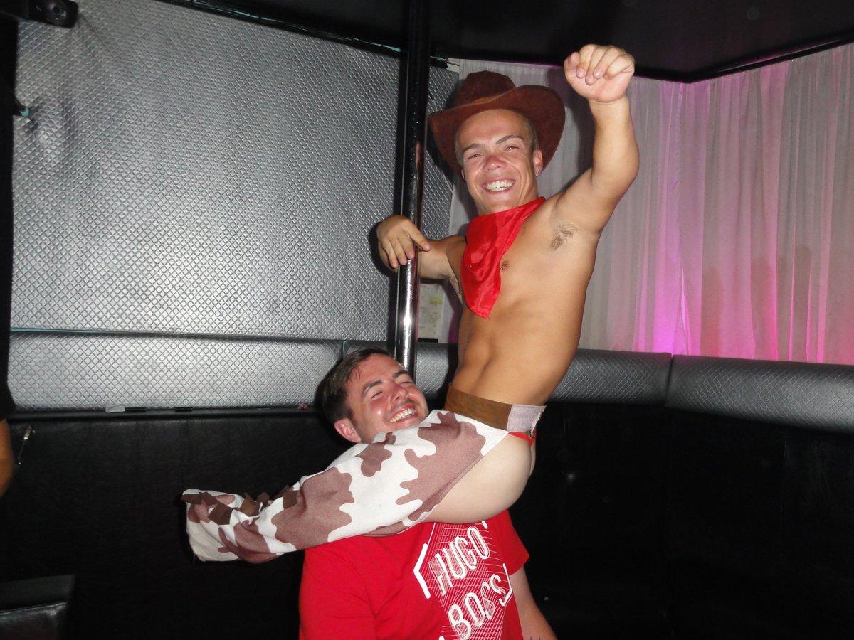 Male stripper midget