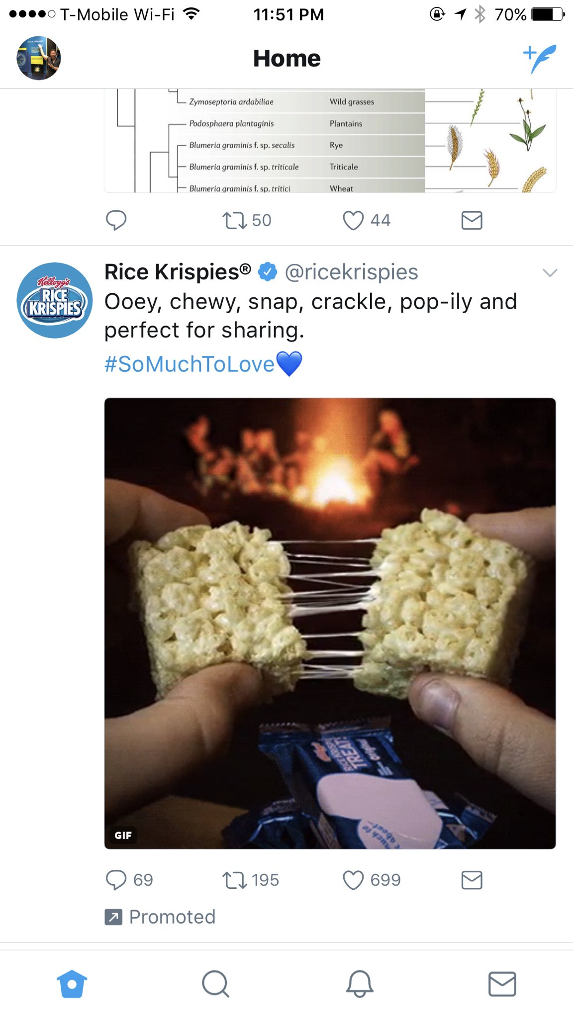 After consuming more Rice Krispies treats than one should in a lifetime at #STAMPS2017, my twitter feed showed me this #theyheareverything https://t.co/cCDnRPeRtU