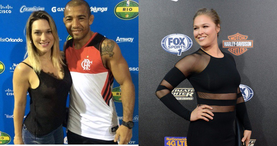 Women S Mma Rankings On Twitter Jose Aldo Claims His Kickboxing Wife Vivianne Would Easily Kick Ronda Rousey S Ass Https T Co Nplt8hkgau