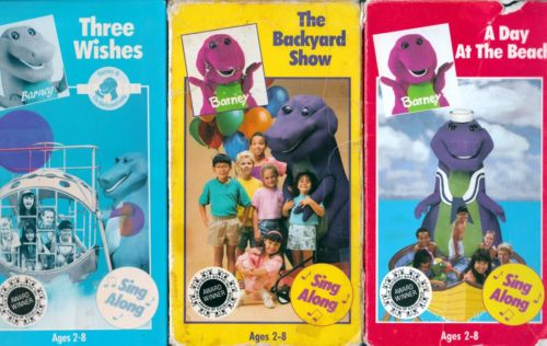 """I Want My VHS on Twitter: """"Barney - The Backyard Show A ..."""