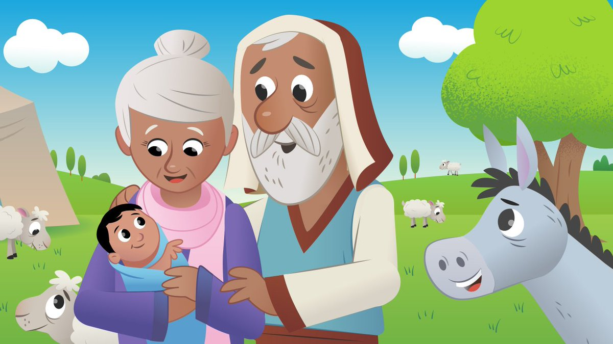"""Bible App for Kids on Twitter: """"When Abraham was 100 and ..."""
