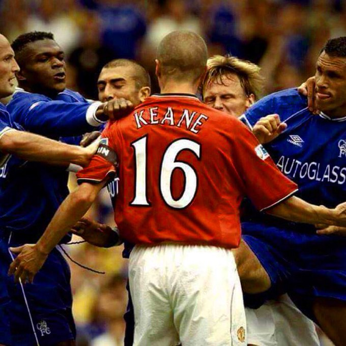The most Roy Keaniest picture of Roy Keane pictures....Happy Birthday Keano