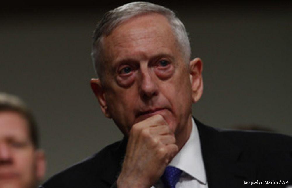U S Defense Secretary James Mad Dog Mattis Visits Amazon S