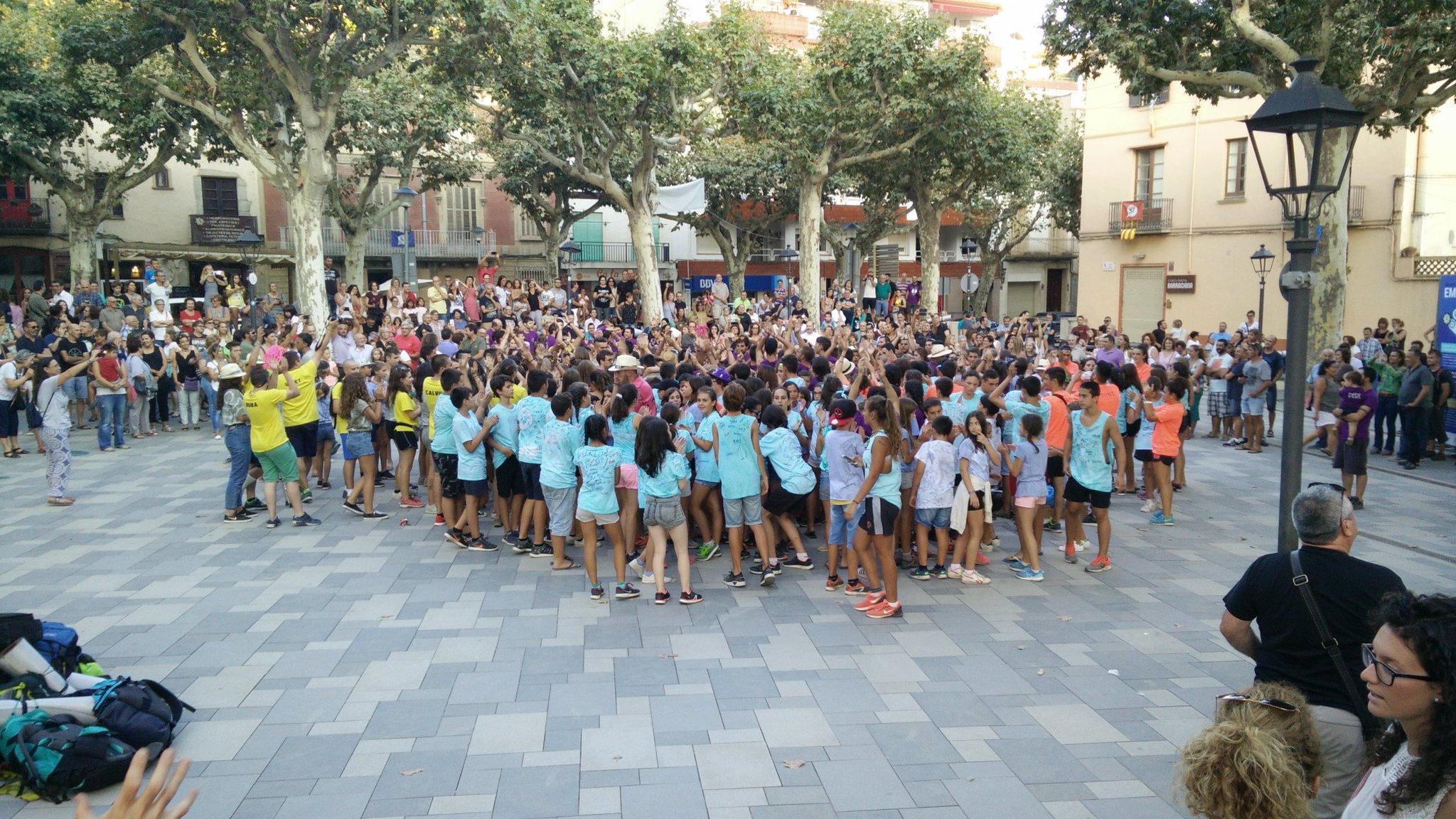 Ahir van arribar les 500 persones que han participat a les catecolònies d'estiu d'Arenys de Munt