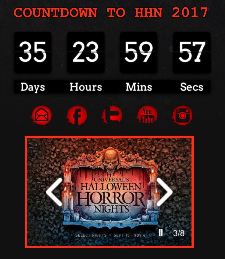 Hate the wait for info...but love the fact that we have only 35 nights until #HHN27 at @HorrorNightsORL!!<br>http://pic.twitter.com/dgnZWqilA4