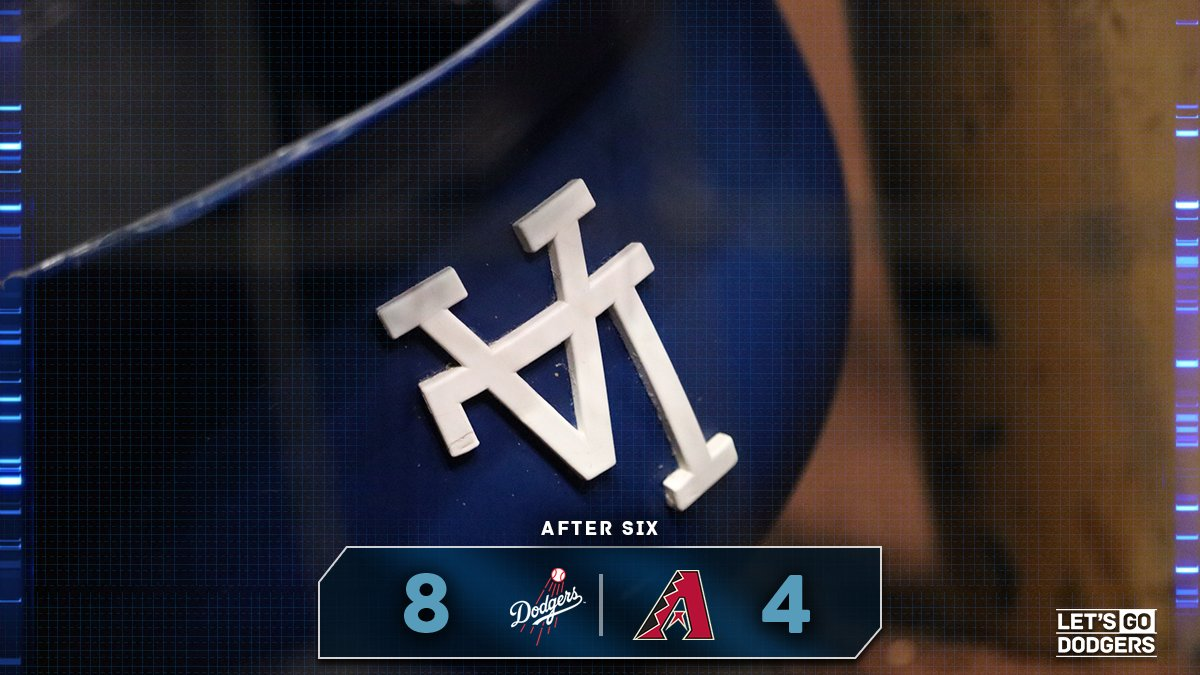 Chris Iannetta hits a 2-run home run in the bottom of the sixth but the #Dodgers still lead, 8-4. #LetsGoDodgers https://t.co/6Twn8BfuHz