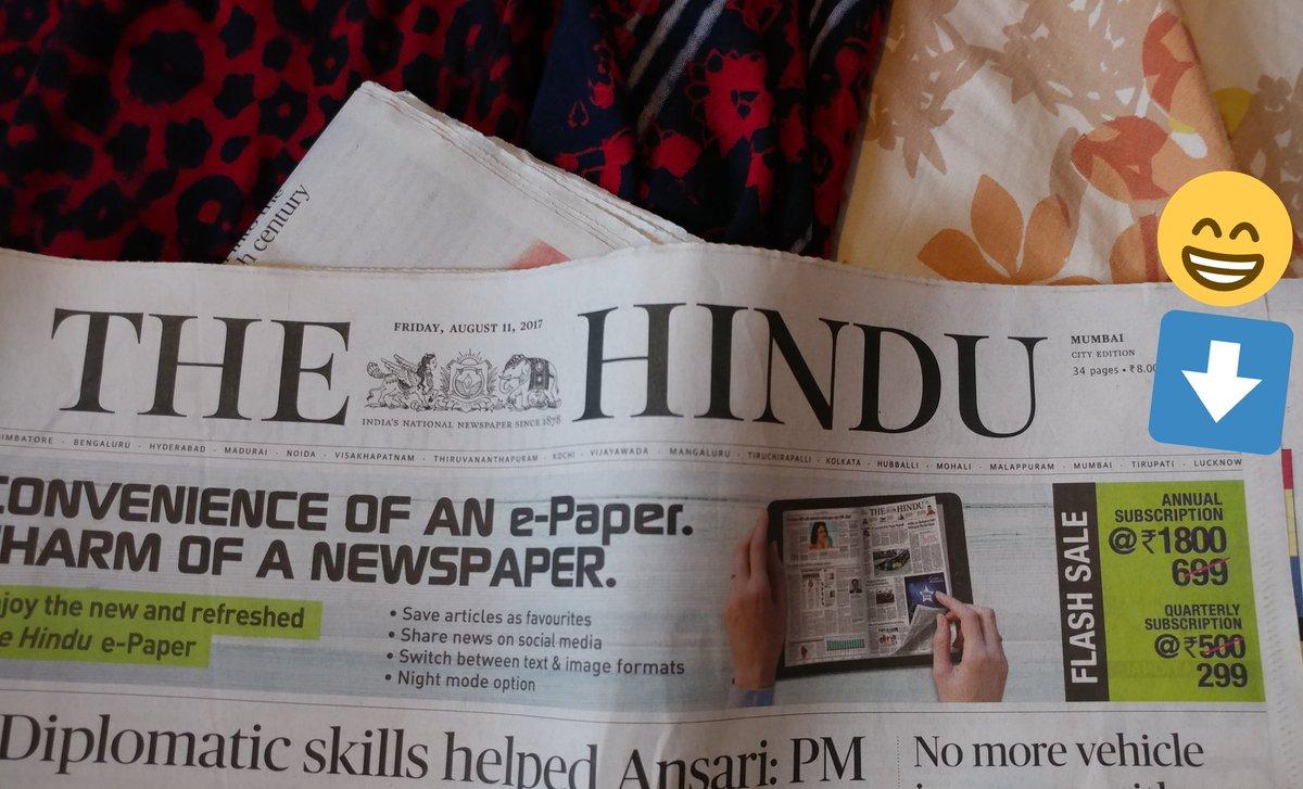 I don't think The Hindu understands how Flash Sales work. Things have to get cheaper, not more expensive. https://t.co/JmTWaYgWee