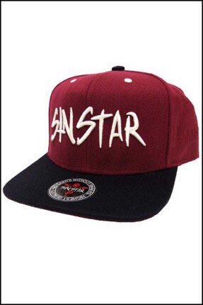Red//White Asking Alexandria Trucker Hat