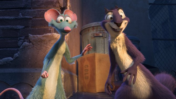Review: 'The Nut Job 2: Nutty By Nature' https://t.co/vEBsaf4N5c https://t.co/34nc9asTSO