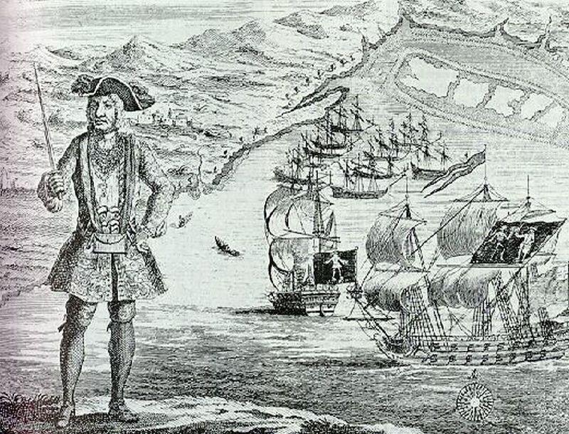 Những tên cướp biển khét tiếng nhất trong lịch sử nhân loại - ảnh 4.