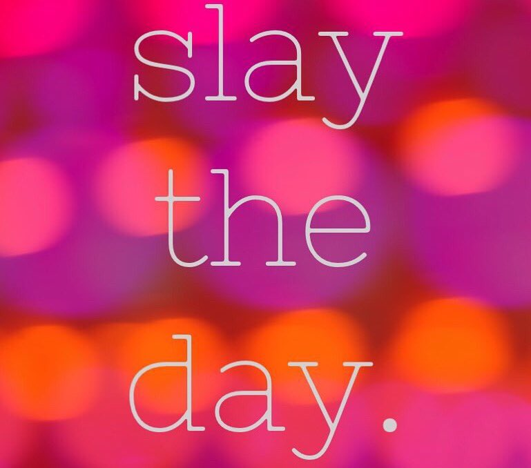 Friday Friendly Reminder... Slay the day Its Friday  #FridayFeeling #friyay <br>http://pic.twitter.com/0zBdaLR12Y