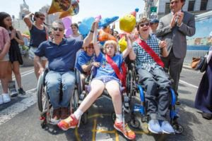 #Disability #Pride #Parade Promotes #Awareness, #Ability, #Intimacy, #Inclusion |  http:// chelseanow.com  &nbsp;    https:// buff.ly/2hKRxTp  &nbsp;  <br>http://pic.twitter.com/eyVeFskgiv