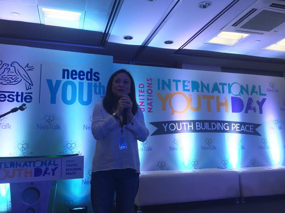 Nestlé Philippines is celebrating the United Nations' International Youth Day this very moment at NesTalk: #YouthBuildingPeace https://t.co/Q4EfiH2GGy