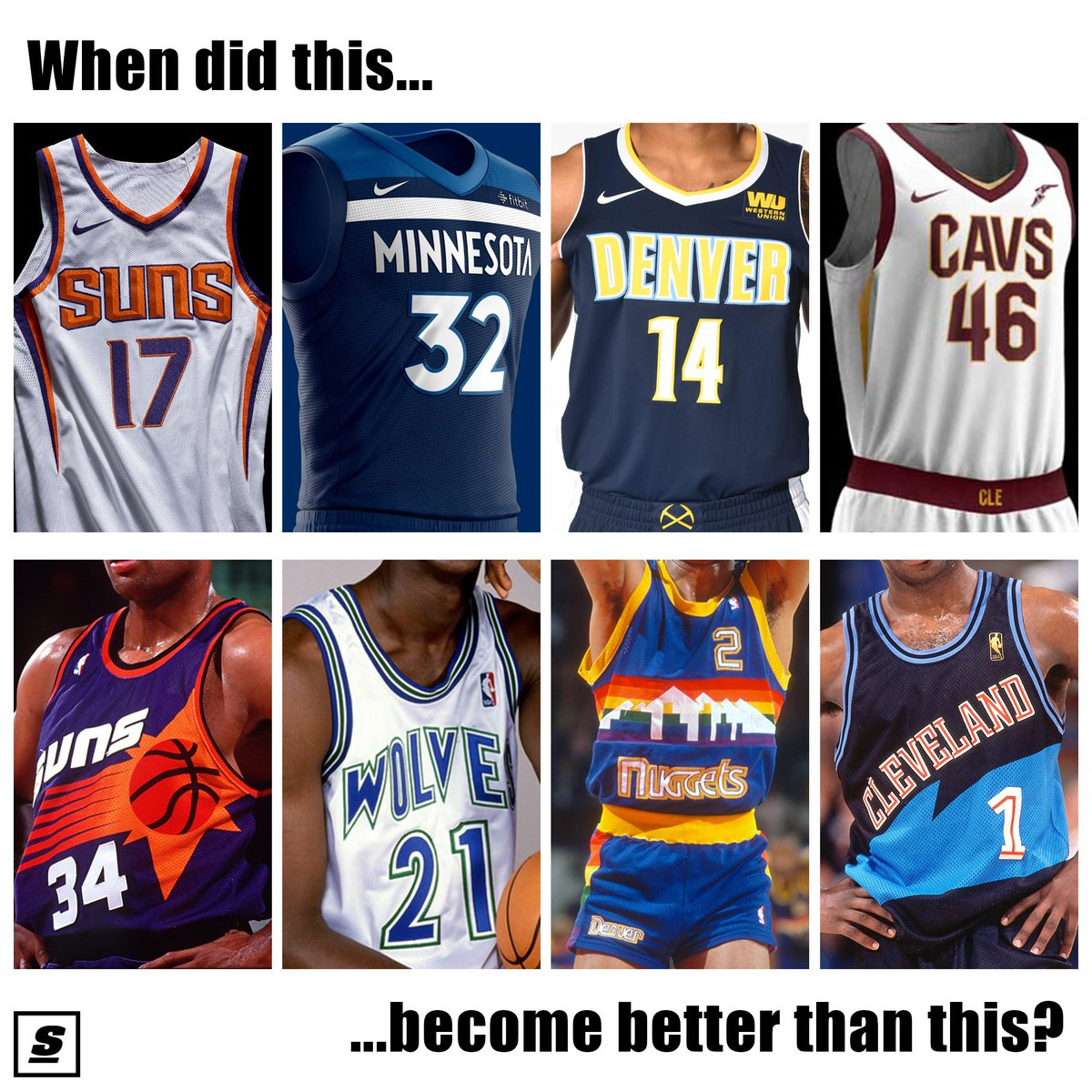 old school cavs jersey