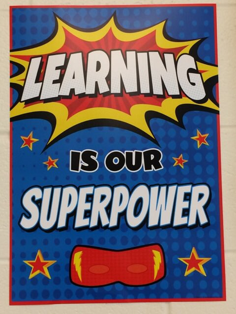Image result for learning is our superpower